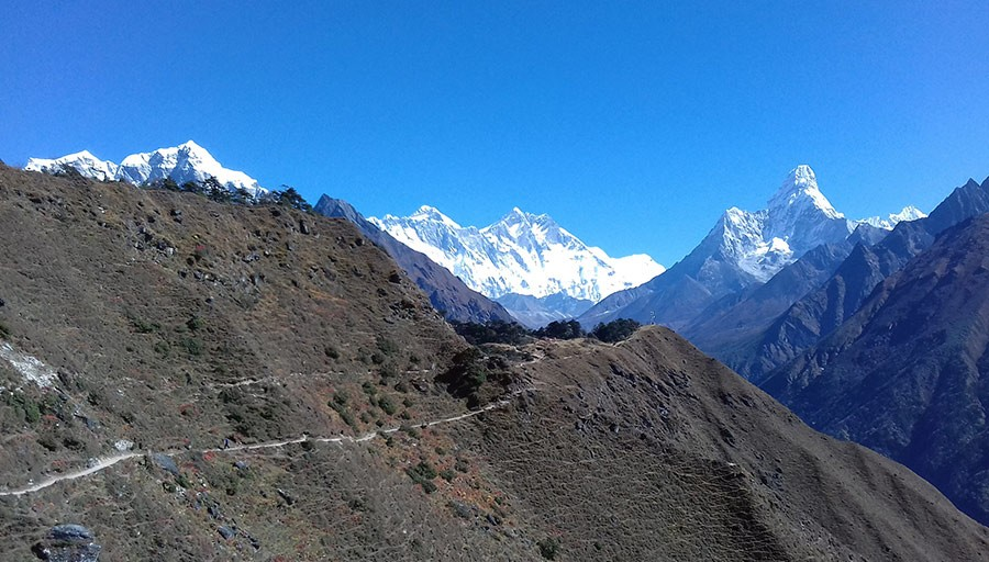 View from Namche, 14 Days Everest Base Camp Trek