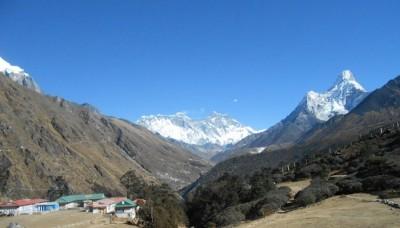View point of Everest view and Mt. Amadablam